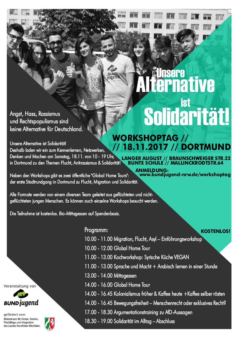 Workshop - Unsere Alternative ist Solidarität!