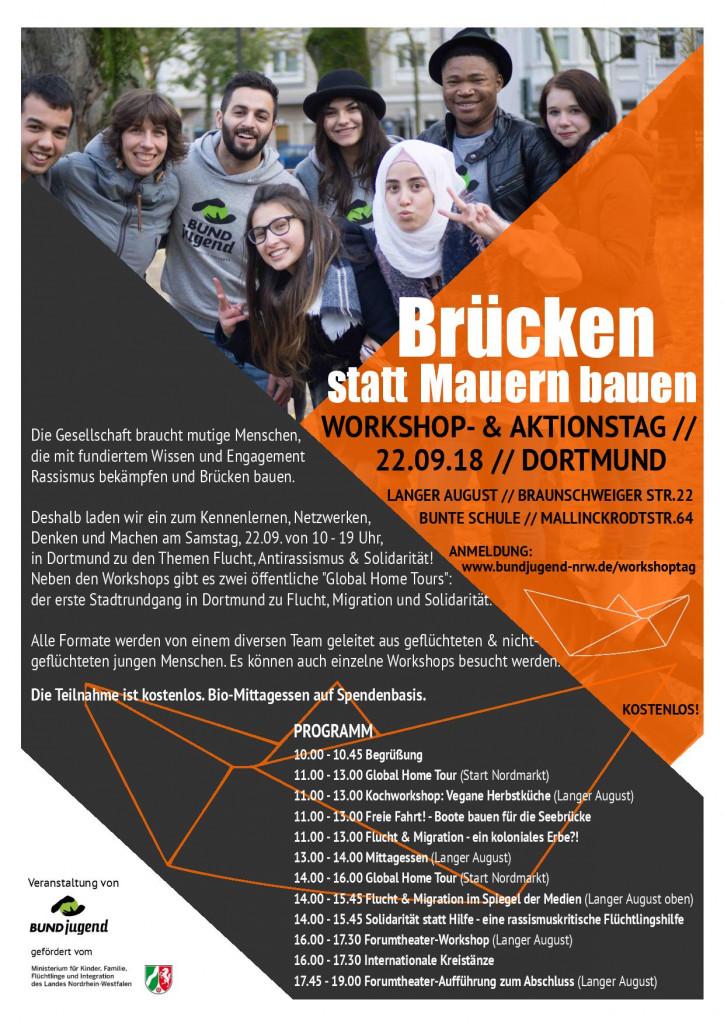 Brücken statt Mauern bauen - Workshop- & Aktionstag