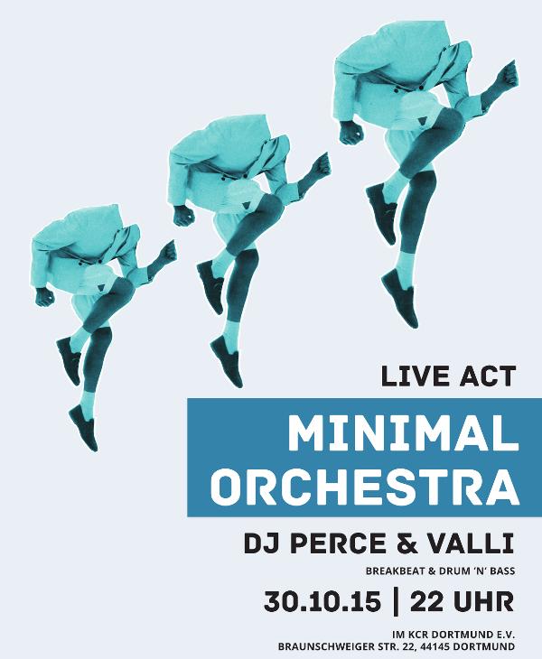 99 heads every 5th - Konzert mit minimal-orchestra