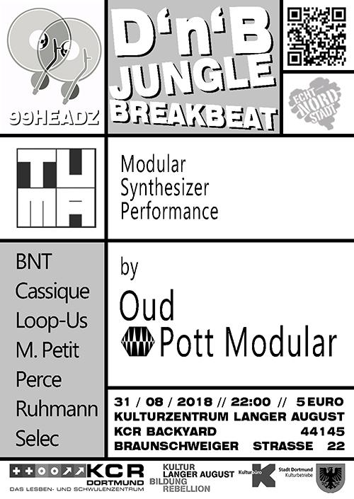 Konzert: Oud & Pott Modular - Modular Syntheziser Performance