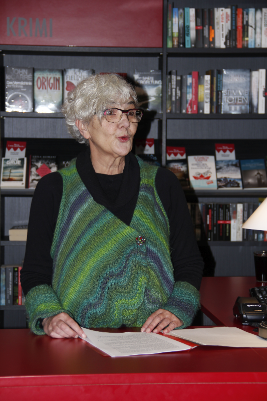 Lesung: Astrid Petermeier liest aus dem kriminellen Schelmenroman KUNST GEGEN KOHLE