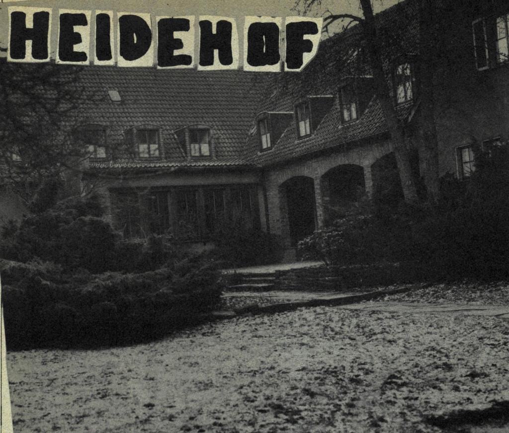 Heidehofbesetzung in Dortmund 1982
