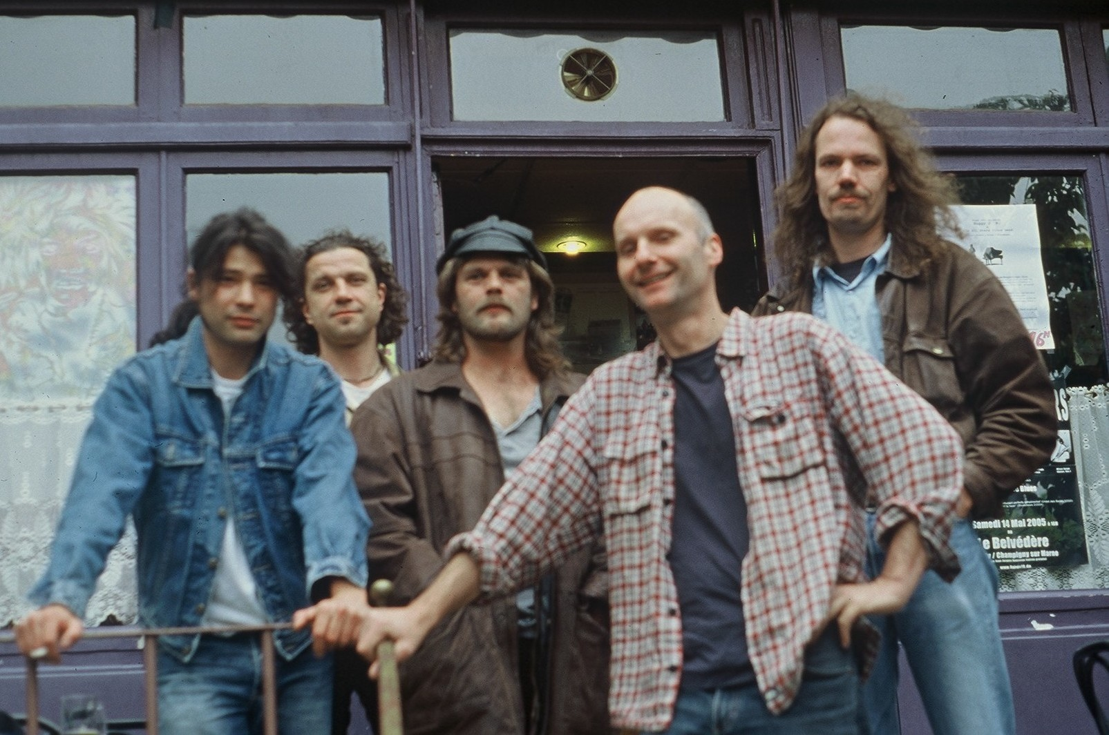 Bandfoto: The Huggy J.B. Allstars