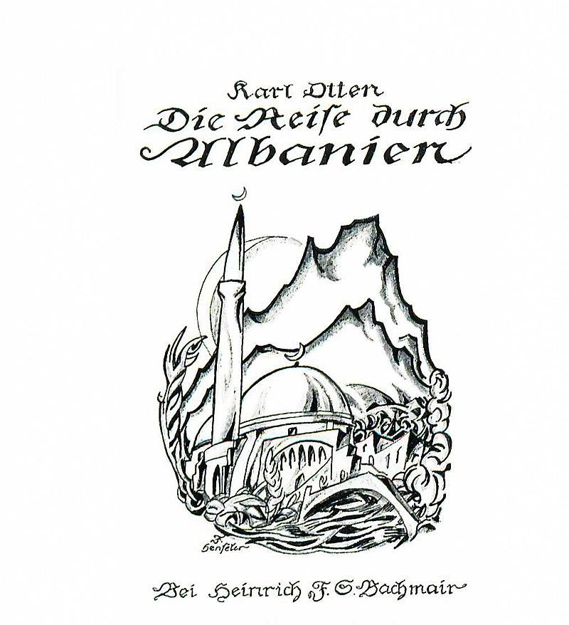 Ralf Landmesser liest aus dem Werk Karl Ottens