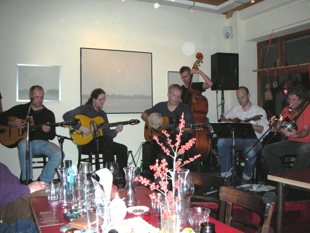 Konzert mit Minor Swing und Thilo MC Luski Band