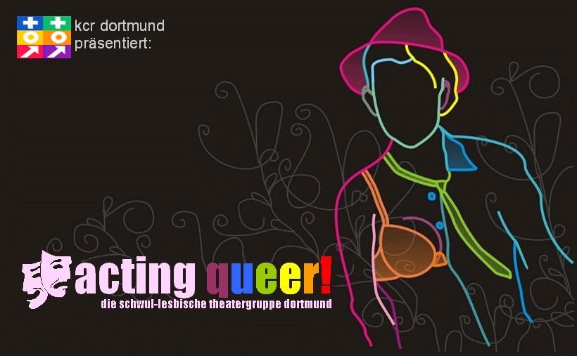 acting queer!