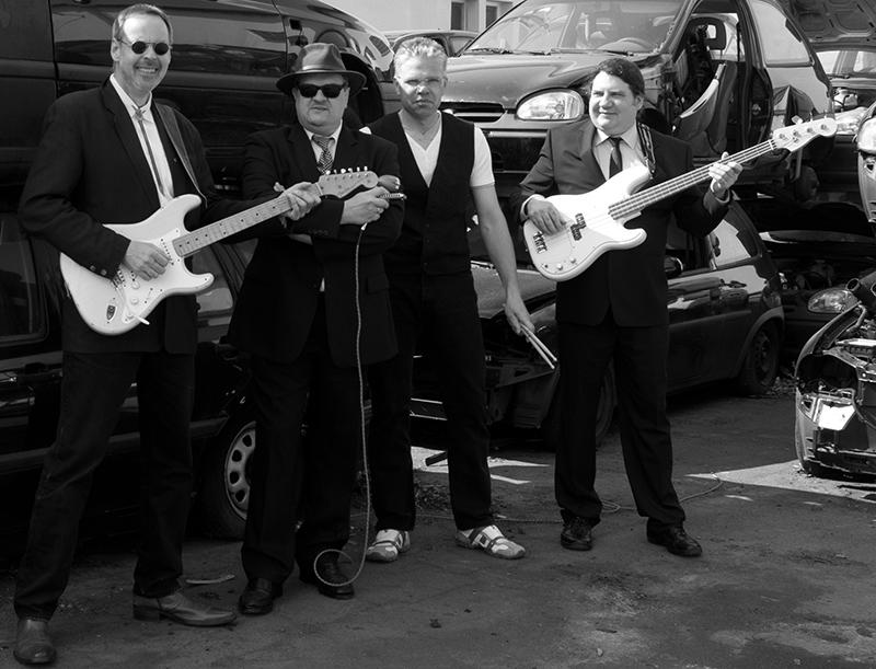 Konzert mit Scrapyard Bluesgang