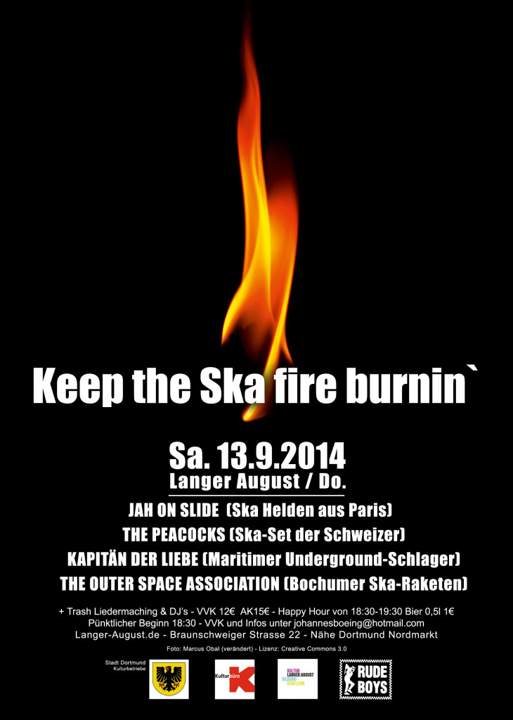 Konzert: Keep the Ska Fire burnin