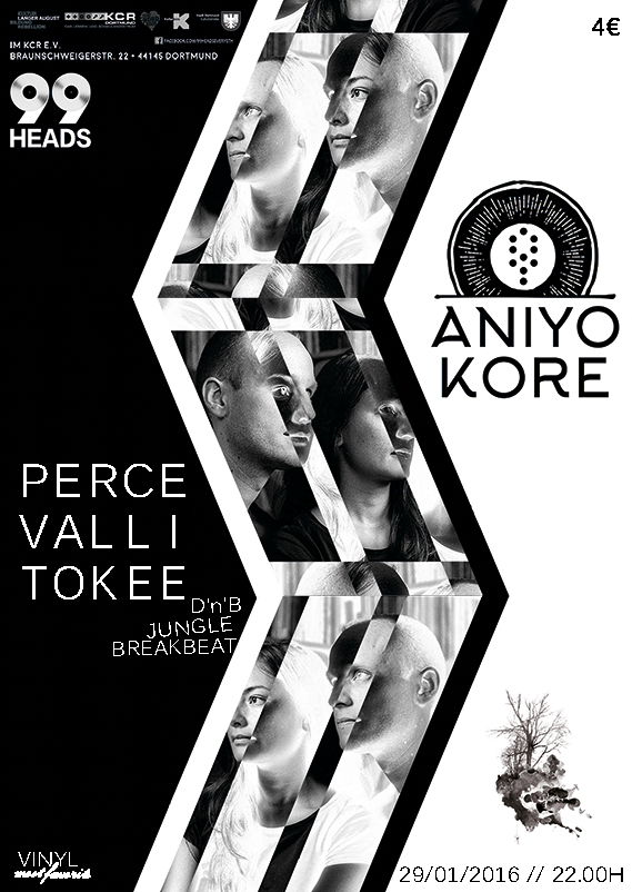 99 heads in concert: aniYo kore