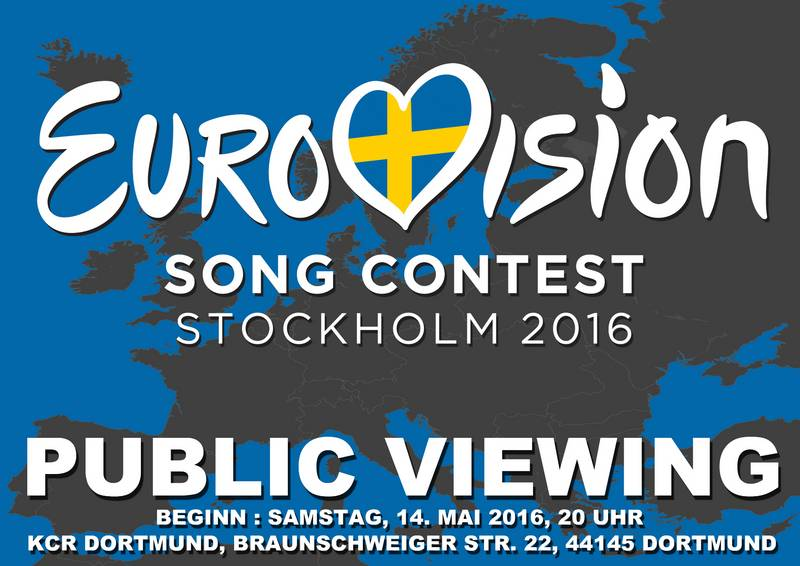 Public viewing: Eurovision Song Contest
