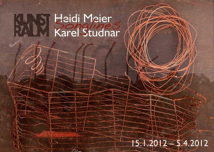 Ausstellung SonglineS - Heide Meier und Karel Studnar