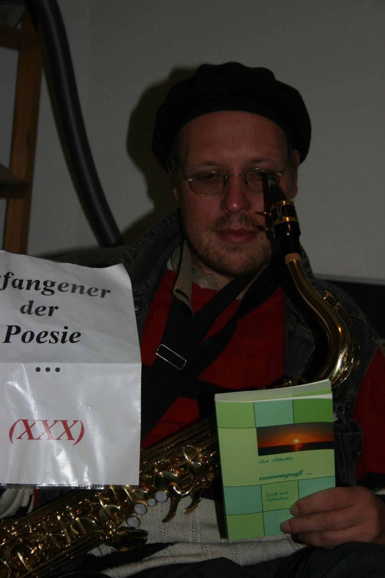 Musikalische Lesung des Dortmunder Künstlers und Journalisten Tork Pöttschke alias Christopher Dömges