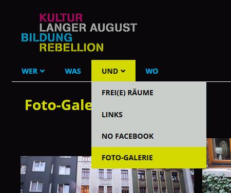 neues Feature - Foto-Galerie