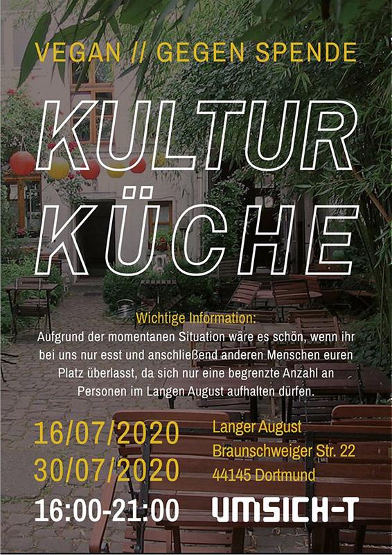 Umsich-T Kulturküche Ankündigung